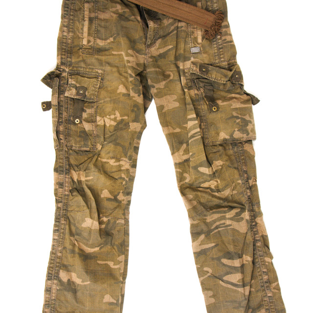 """Camouflage pants"" stock image"