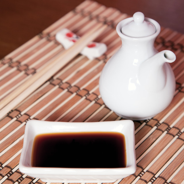 """Soy sauce"" stock image"