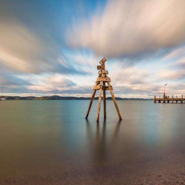 """Maraetai Beach Auckland New Zealand"" stock image"
