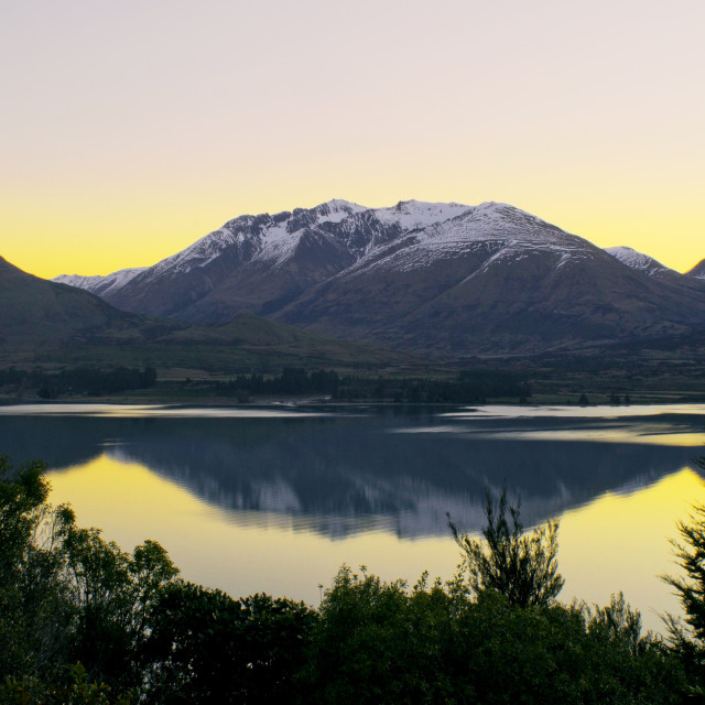 """Glenorchy, South Island New Zealand"" stock image"