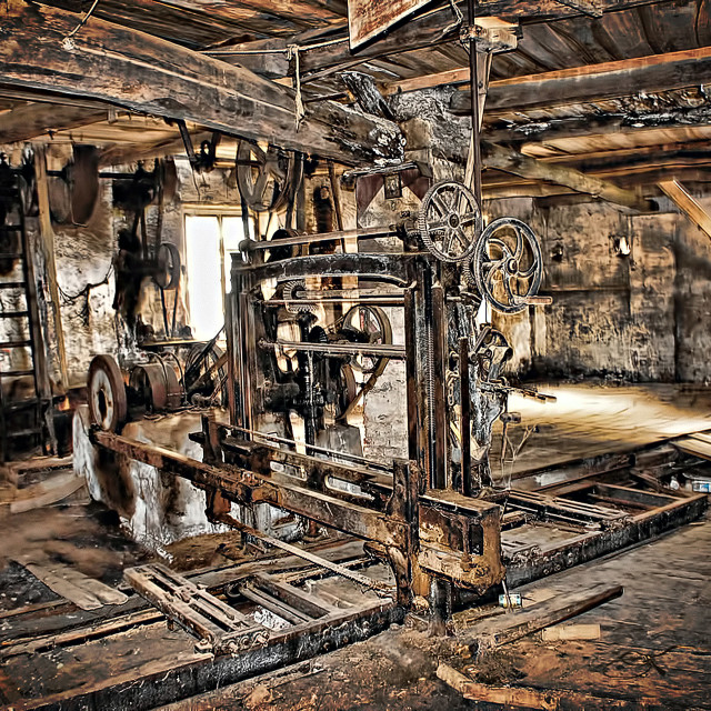 """""""Industrial archeology"""" stock image"""