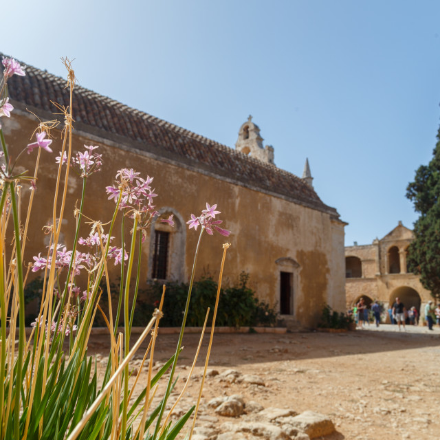 """Arkadi Monastery"" stock image"