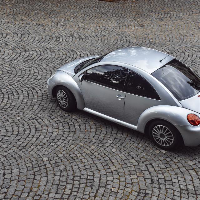 """""""VW New Beetle"""" stock image"""