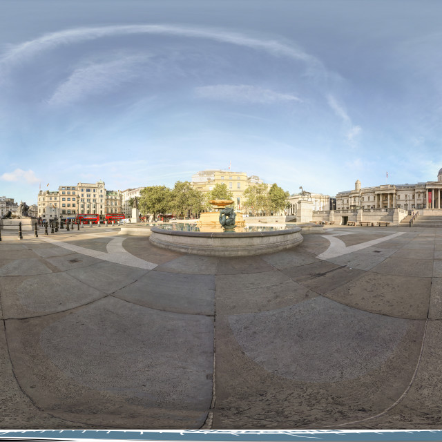 """Trafalgar Square 360"" stock image"