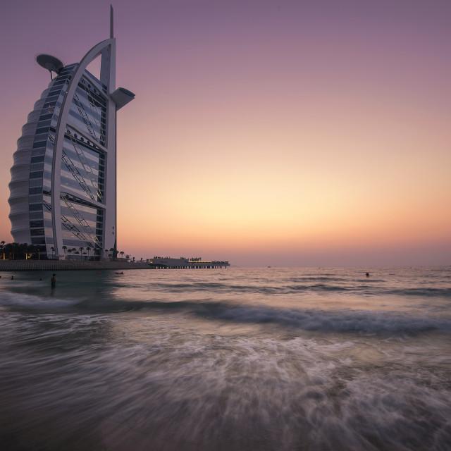 """Burj Al Arab"" stock image"