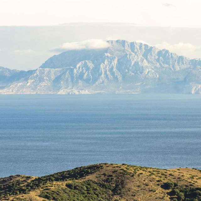 """""""strait of Gibraltar"""" stock image"""