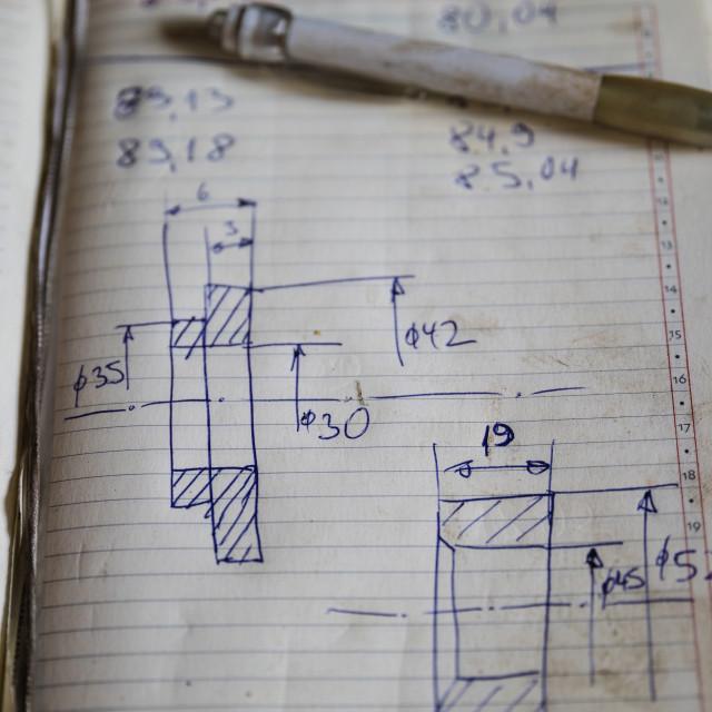 """Hand drawn sketch"" stock image"