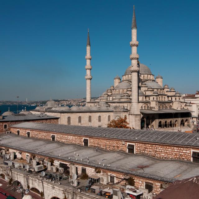 """Rustem Pasa Mosque in Istanbul"" stock image"