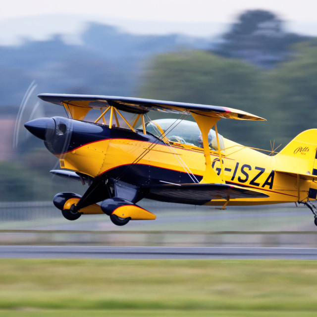 """Pitts S2A G-ISZA"" stock image"