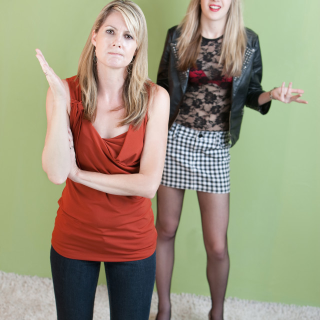 """""""Annoyed Mother"""" stock image"""