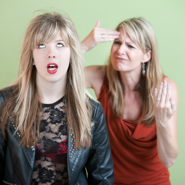 """""""Frustrated Mom"""" stock image"""