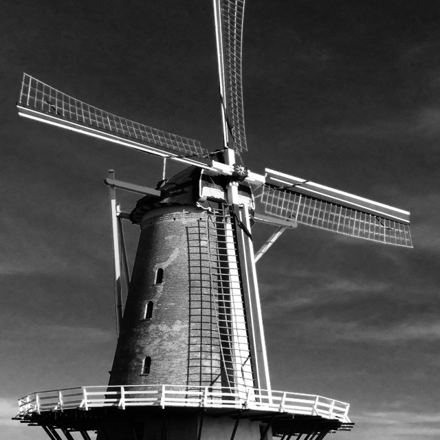 """Windmill Vlissingen"" stock image"