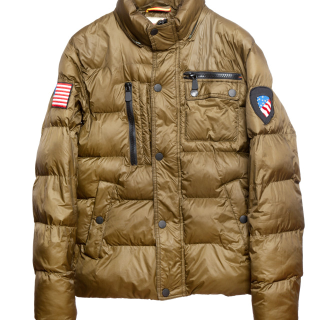 """Warm winter jacket"" stock image"