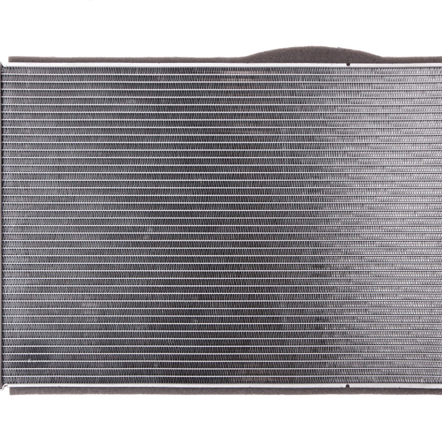 """Car radiator on white background"" stock image"