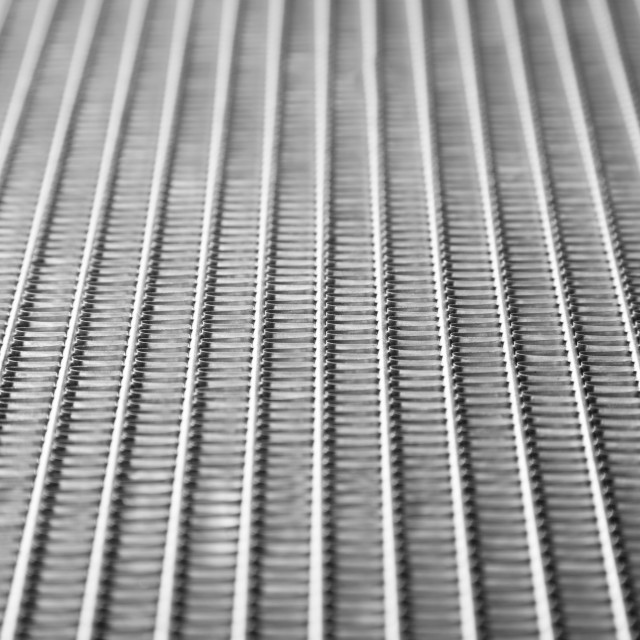 """Car radiator close up"" stock image"
