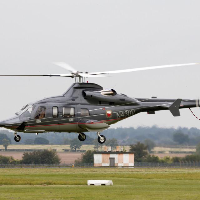 """""""Bell 430 N430V"""" stock image"""