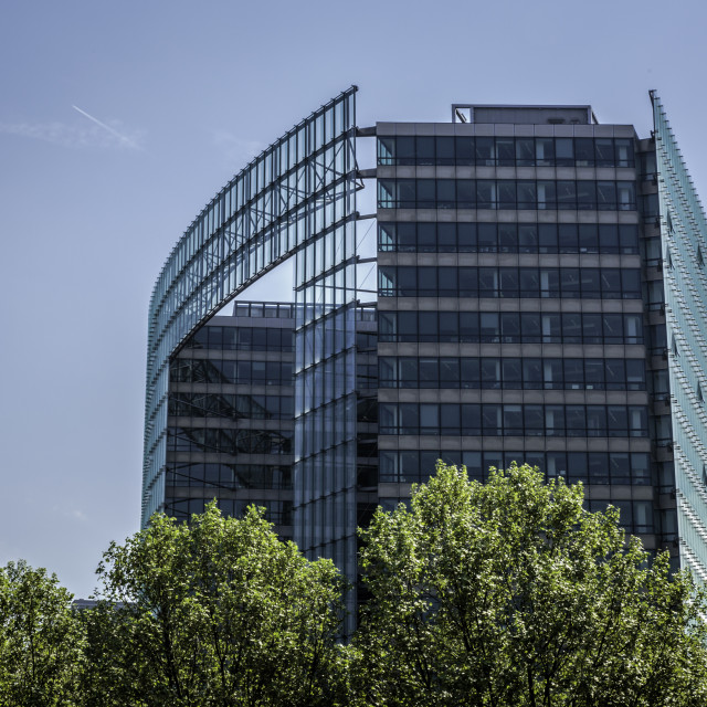 """""""Office building, Brussels"""" stock image"""