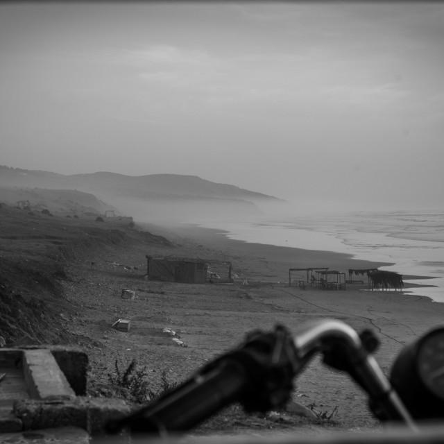 """Asilah Beach, Morocco"" stock image"