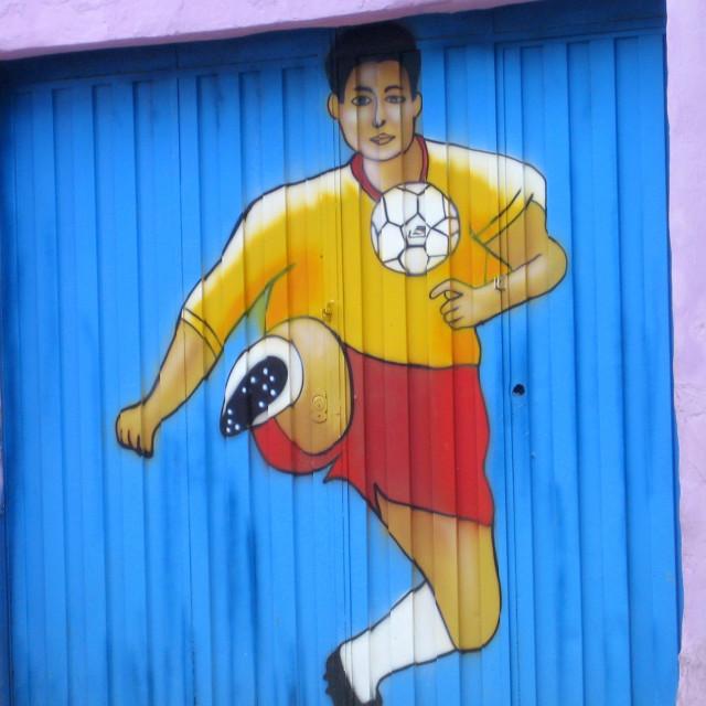 """""""Fútbol"""" stock image"""
