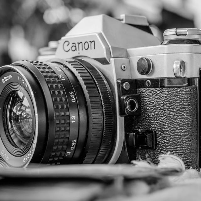 """Canon AE1"" stock image"