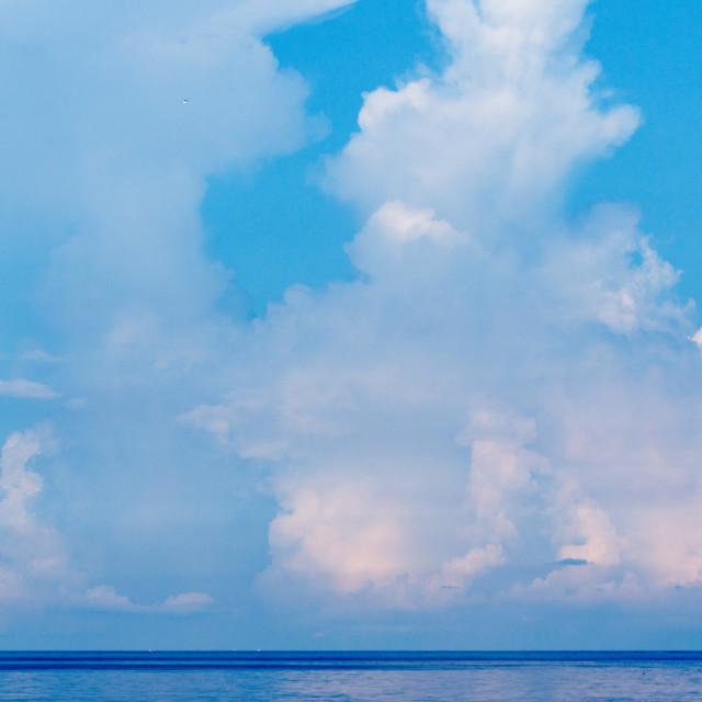 """Sea and sky."" stock image"