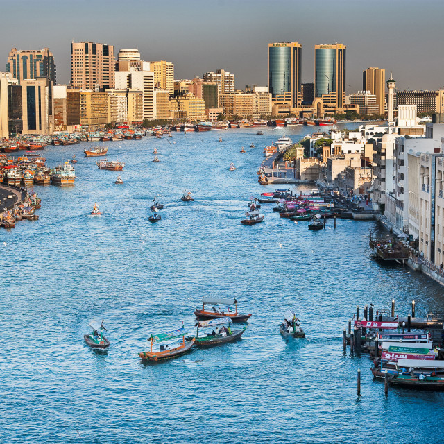"""Dubai Creek, 2006"" stock image"