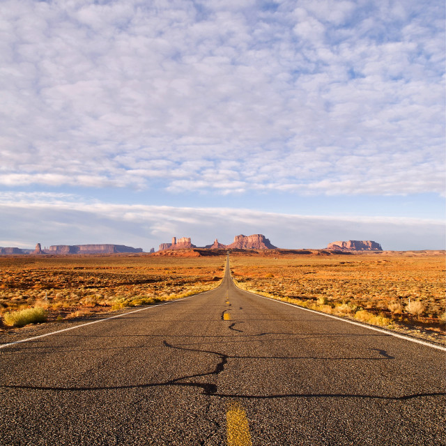 """Desert Highway"" stock image"