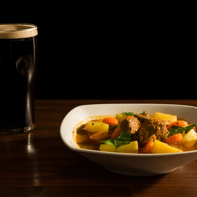 """Traditional Irish Stew"" stock image"