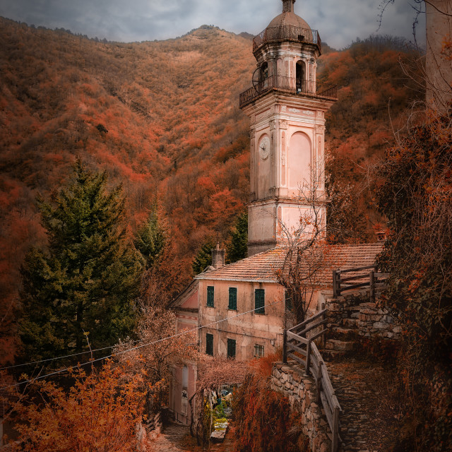 """Autumn in the mountains ..."" stock image"