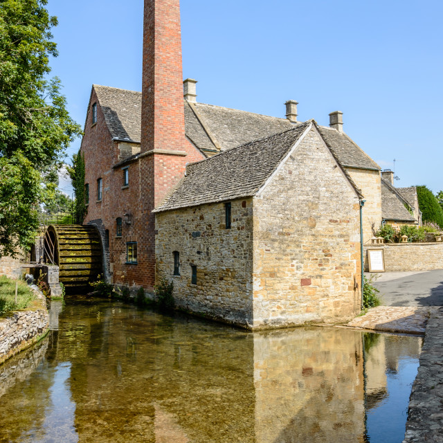 """Old Watermill"" stock image"