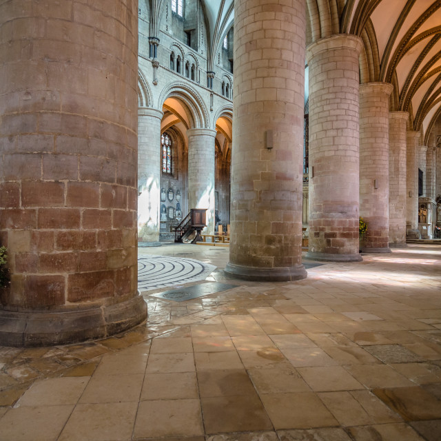 """""""Gloucester Cathedral"""" stock image"""