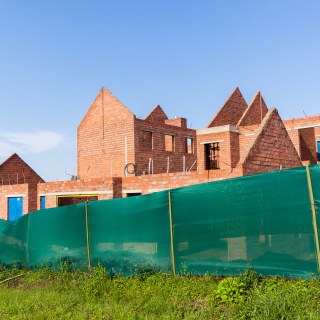"""""""Home Building Structure"""" stock image"""