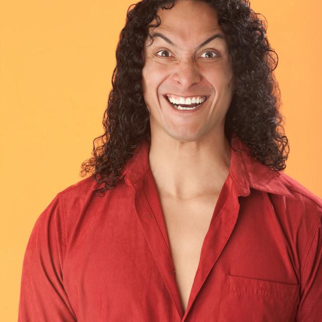 """Crazy Laugh"" stock image"