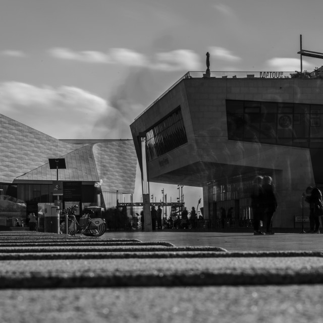 """""""Museum of Liverpool"""" stock image"""