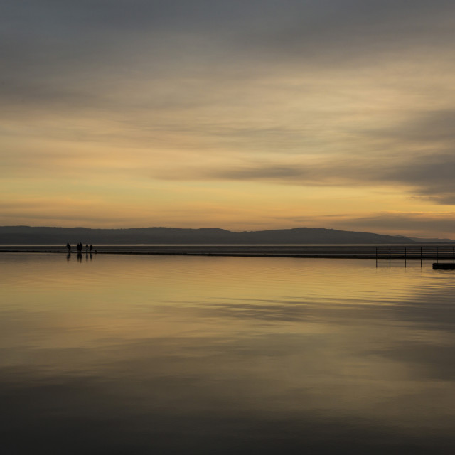 """West Kirby Cloudscape"" stock image"