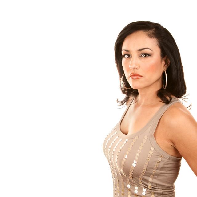 """Pretty Latina Woman"" stock image"