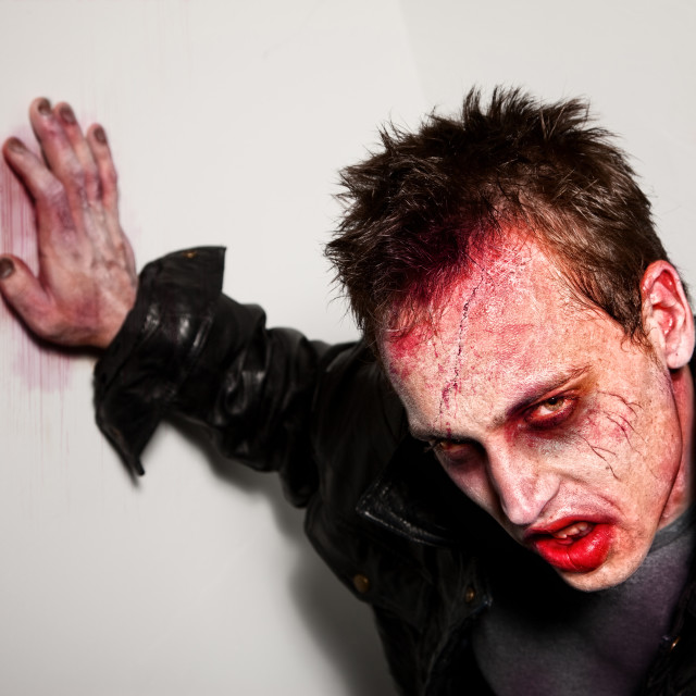 """""""Tired Zombie"""" stock image"""