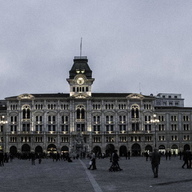"""""""Old and Beautiful Trieste"""" stock image"""