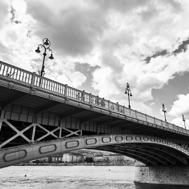 """Margaret Bridge"" stock image"