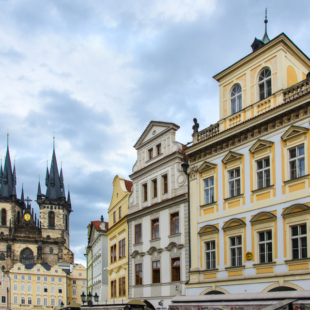 """Prague, Old Town Square"" stock image"