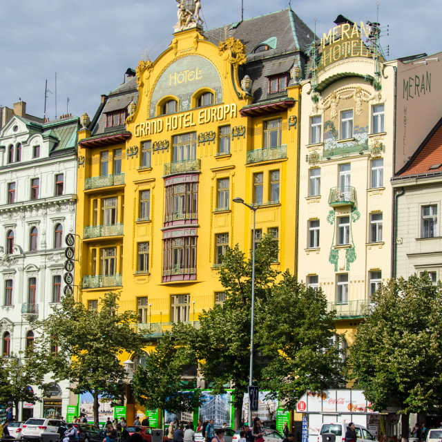 """Grand Hotel Europa"" stock image"