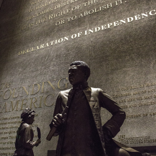 """Smithsonian Museum of African American History and Culture"" stock image"