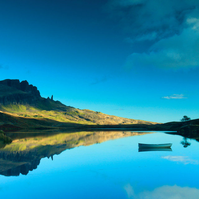 """Loch Fada"" stock image"