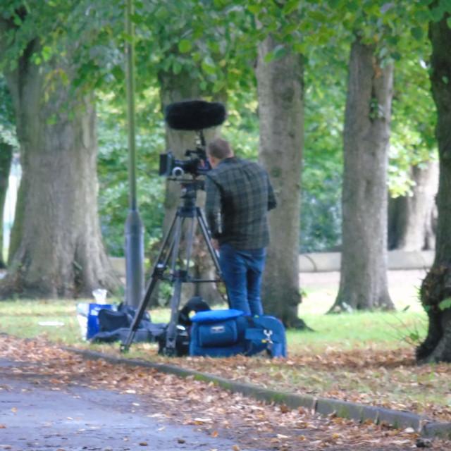 """Camera Man"" stock image"