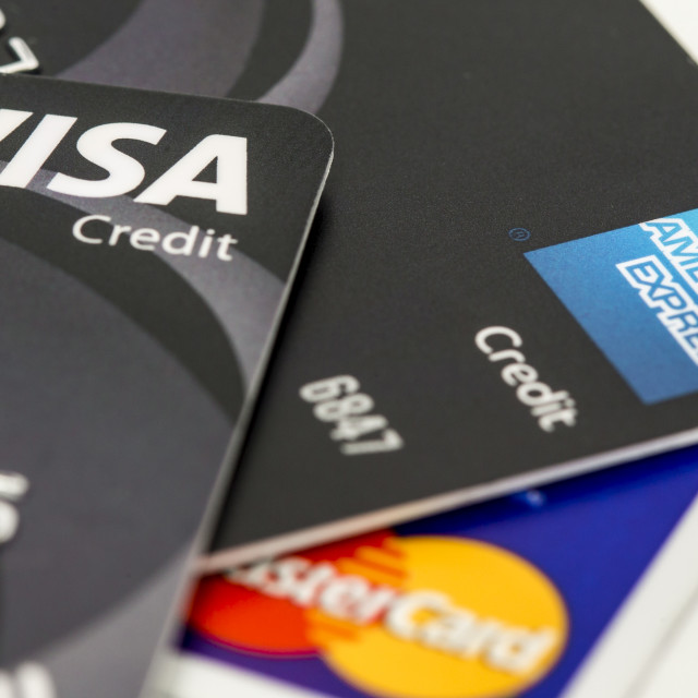 """Credit Cards"" stock image"