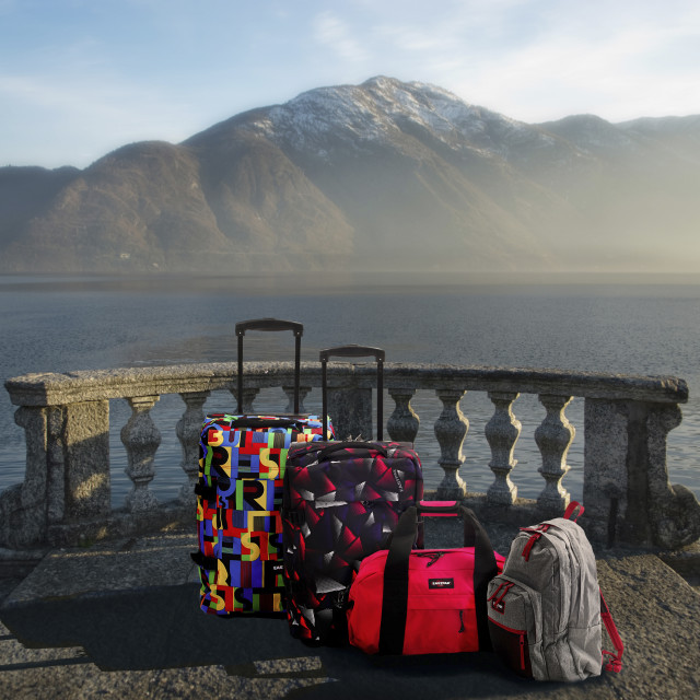 """""""Suitcases."""" stock image"""