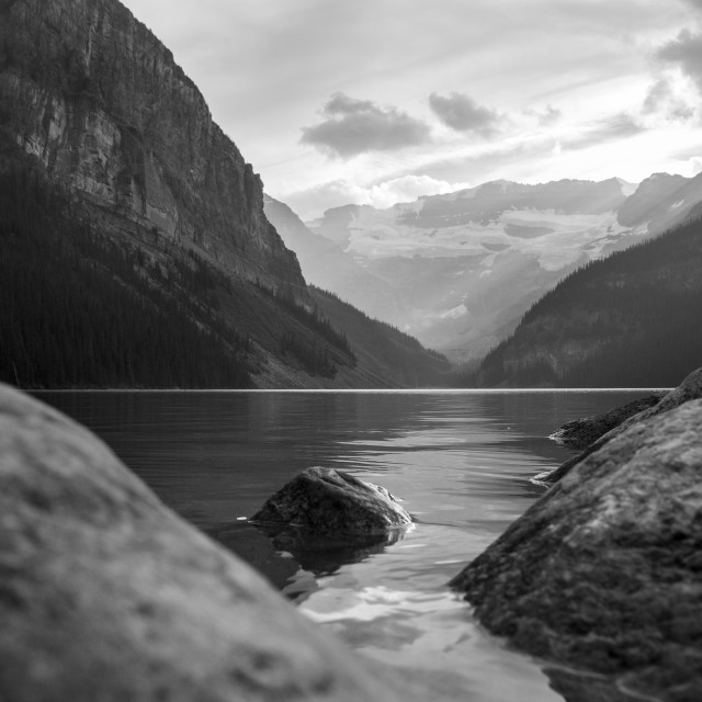 """Lake Louise, Canada"" stock image"
