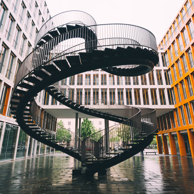 """Infinite Staircase"" stock image"