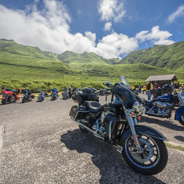 """Motorbike travel"" stock image"