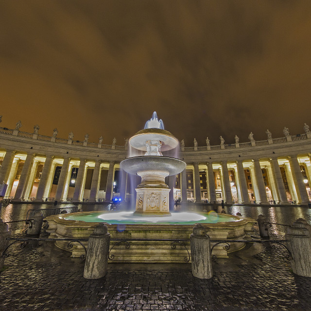 """""""St. Peter Square"""" stock image"""